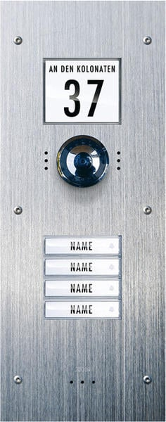 m-e VDV-840 Video-Türsprechanlage