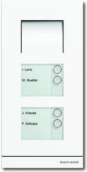 Busch-Jaeger Busch-Welcome Außenstation Audio 4-fach weiß