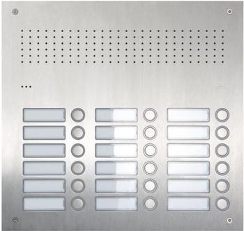 Ritto Acero pur Edelstahl-Türstation Audio (RGE1813225)