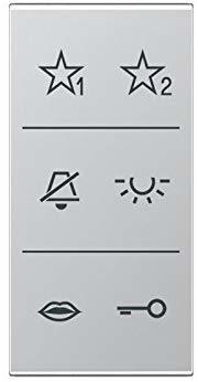 Jung Design-Cover Audio lack. aluminium