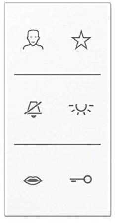 Jung SIV6LSDCWW Video-Design-Cover