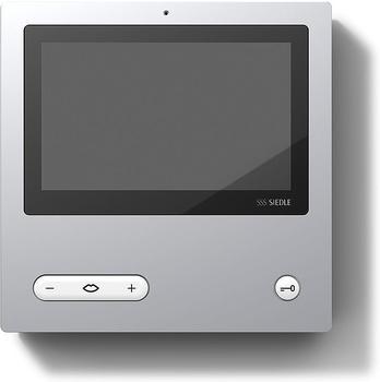 Siedle AVP 870-0 A/W aluminium/weiß