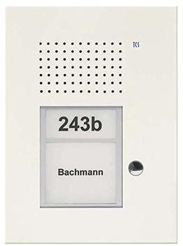 TCS Tür Control Audio Außenstation PUK 1 Taste 1spaltig UP weiß