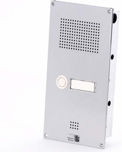 Telecom Behnke Serie 5 UP-Set mit 1-Ruftaste, silber