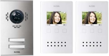 Elcom Video-Türsprechanlage VEA-2EM