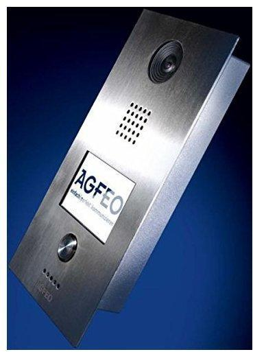 Agfeo IP-Video-Türstation TFE 1 silber