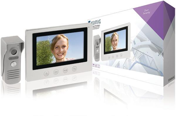 Nedis König SAS-VDP100 Video Door Phone - Videogegensprechanlage - verkabelt - 17.8 cm