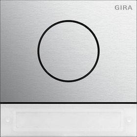 Gira 5569926 Türstationsmodul Inbetriebnahme-Tasten System 106 Aluminium