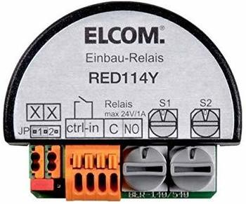 Elcom RED114Y Schaltrelais 1fach mit UP