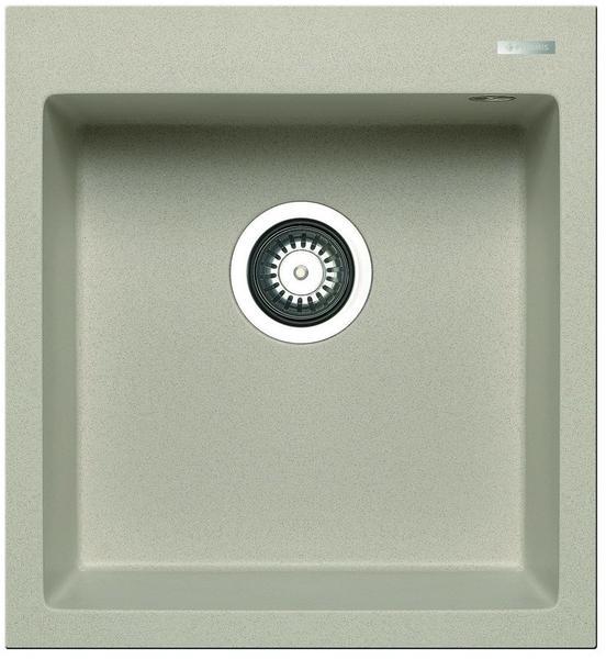Granitspüle Steins PYRAMIS Spüle ATHLOS 86x50 in BEIGE mit Excenterbedienung