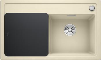 Blanco Zenar 45 S Silgranit PuraDur mit Glasschneidbrett Becken rechts, jasmin, 523714