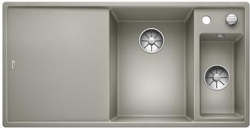 Blanco Axia III 6 S Spüle B: 100 T: 51 cm, mit Glasschneidbrett perlgrau 523476