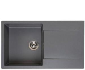 Reginox Einbauspüle Amsterdam 10 Küchenspüle B: 86 T: 50 cm grau metallic R30936