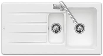 Villeroy & Boch Architectura 60 XR mit Handbetätigung, snow white ceramicplus