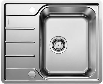 Blanco Lemis 45 S-IF Mini Einbauspüle mit Ablauffernbedienung, reversibel, Edelstahl Bürstfinish (525114)