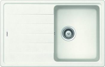Respekta by Schock Columbia 78 x 50 cm, 1 Becken, weiß