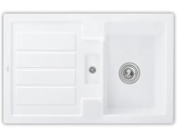 Villeroy & Boch Flavia 45 Stone White Handbetätigung (330601RW)