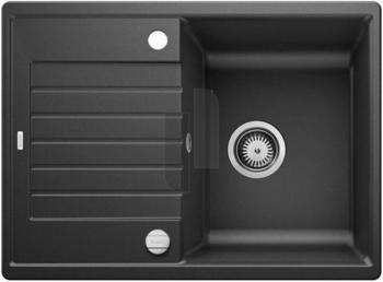 blanco-zia-45-s-compact-rechteckige-granitspuele-fuer-45-cm-breite-unterschraenke-mit-verkuerzter-abtropfflaeche-aus-silgranit-grau-524711