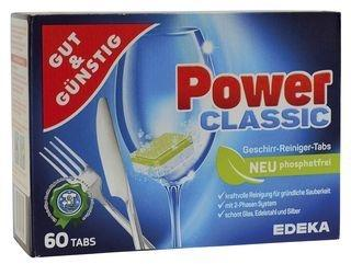 Gut & Günstig Power Classic Geschirr-Reiniger-Tabs