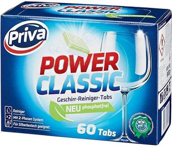 Priva Power Classic Geschirr-Reiniger-Tabs