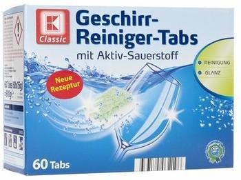 K-Classic Geschirr-Reiniger-Tabs
