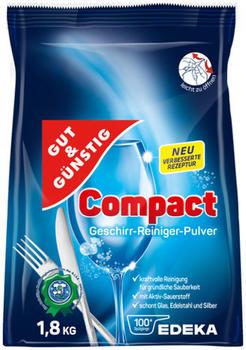 Gut & Günstig Compact Geschirr-Reiniger-Pulver