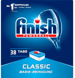 Calgonit Finish PowerBall Classic (38 Stk.)