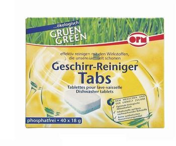 OPM Geschirr-Reiniger Tabs 40 x 18 g