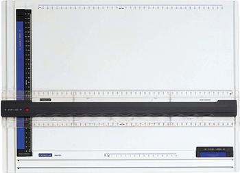 Staedtler Zeichenplatte Mars A3 weiß/anthrazit/blau