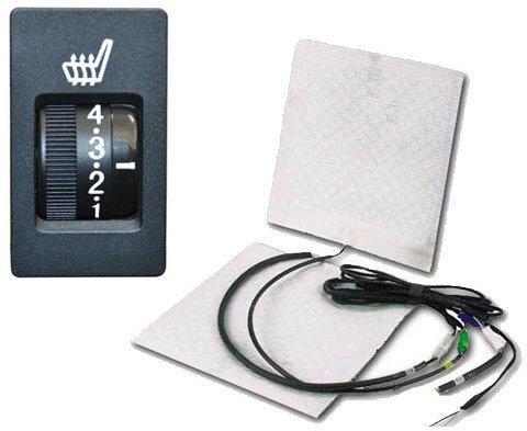 Systafex Carbon Auto-Einbausitzheizung mit 5 Stufenschalter