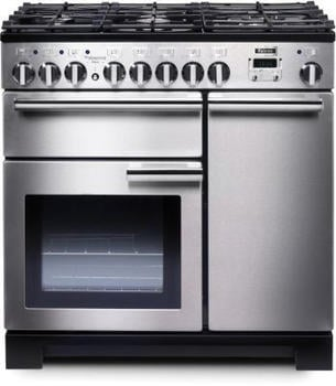 Falcon Professional Deluxe 90 Elektro-Gas stainless steel PDL90DFSS