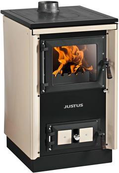 Justus Rustico-50 2.0 Stahlkochfeld creme