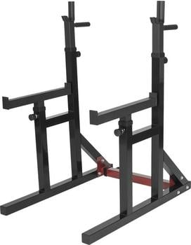 Gorilla Sports Multi Squat Rack verstellbare Ablage