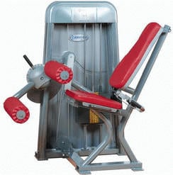 ERGO-FIT Leg Flexion 4000 bordeaux