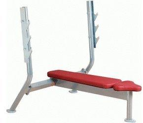 Olympic Flat Bench 4000 bordeaux