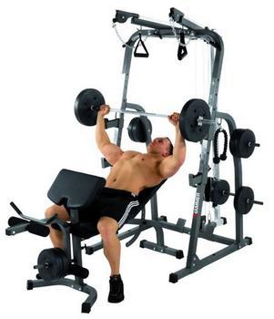 Hammer Solid XP inkl. 76 kg Gewichte