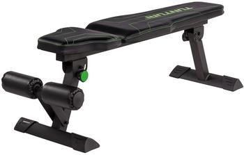 tunturi-fb80-flat-bench-flachbank-schwarz-gruen