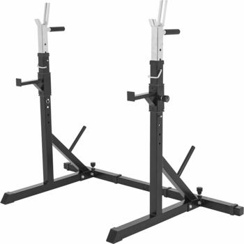 Gorilla Sports Verstellbarer Kniebeugenständer Langhantel Squat Rack