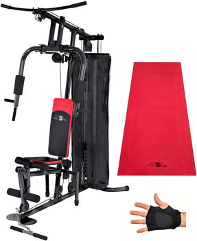 CHRISTOPEIT Fitness-Station, inkl. Trainingshandschuhe, Christopeit Sport®, »SP 10 de Luxe schwarz