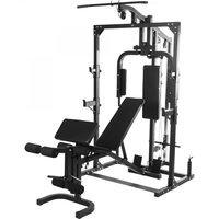 Gorilla Sports Home Gym mit Hantelbank