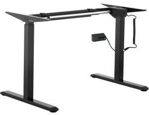 FROMM & STARCK Höhenverstellbares Schreibtischgestell - 200 W - 80 kg - schwarz