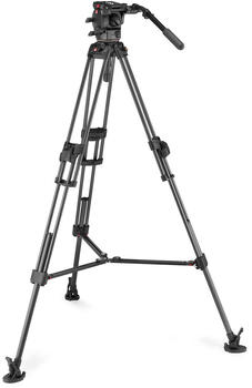 Manfrotto 526 Video Head mit 645 Fast Twin Carbon Stativ