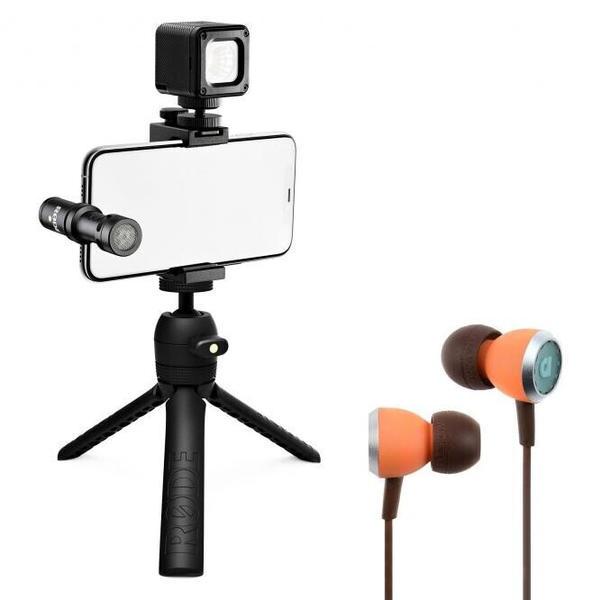 Rode Vlogger Kit USB-C + Audiofly InEar