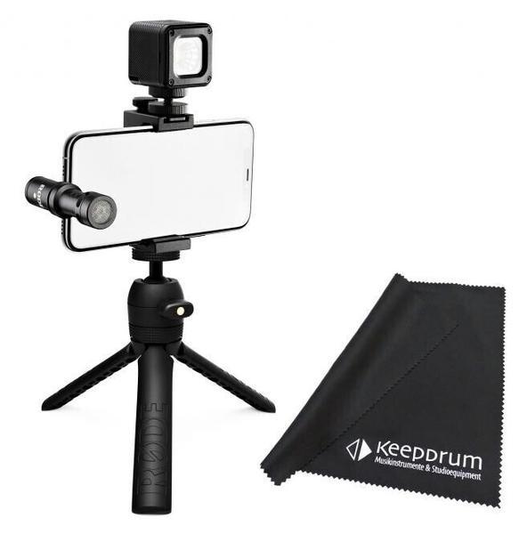 Rode Vlogger Kit USB-C + Mikrofasertuch