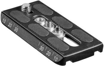 Mantona Schnellwechselplatte 100x50mm für Dolomit 2100, 2200, 2300, 3300 und Director I