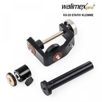 Walimex pro KX-25 Stativ Klemme mit Kugelkopf