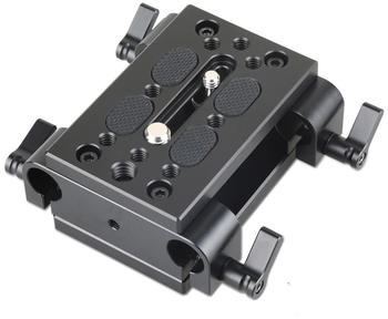 SmallRig 1798 Baseplate with Dual 15mm Rod Clamp