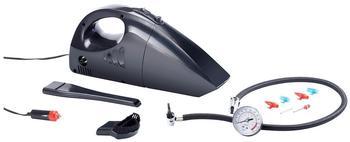 Lescars 2in1-Auto-Handstaubsauger 12 V mit Kompressor, 17bar/250PSI, Manometer