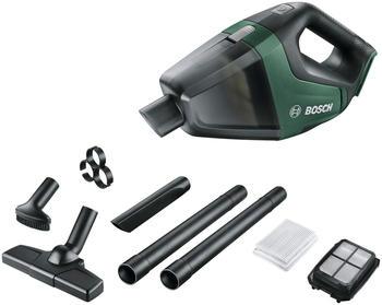 Bosch Akku-Handstaubsauger UniversalVac 18, 18 V, ohne Akku und Ladegerät grün