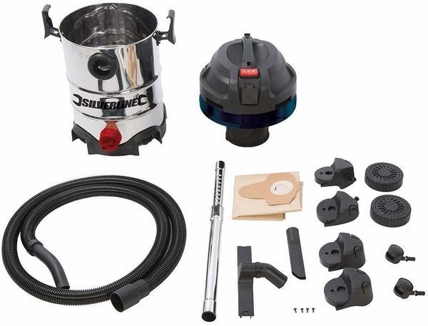 Silverline Silverstorm Wet & Dry Vacuum Cleaner 30 L (575803)